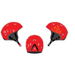 Casque Gin rouge