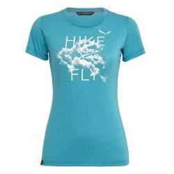 T-shirt femme X-Alps bleu
