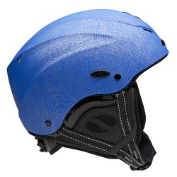 Casque Icaro Nerv scratch blue