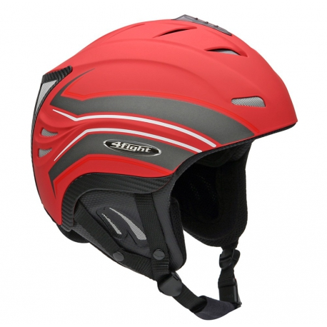 Casque Icaro Fly square red