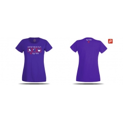 T-shirt syride girls violet